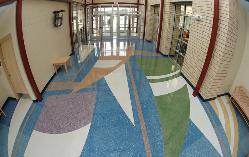 Porcelanato Liquido em Escolas