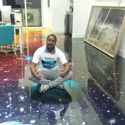 LiquidPiso 3d Galaxia