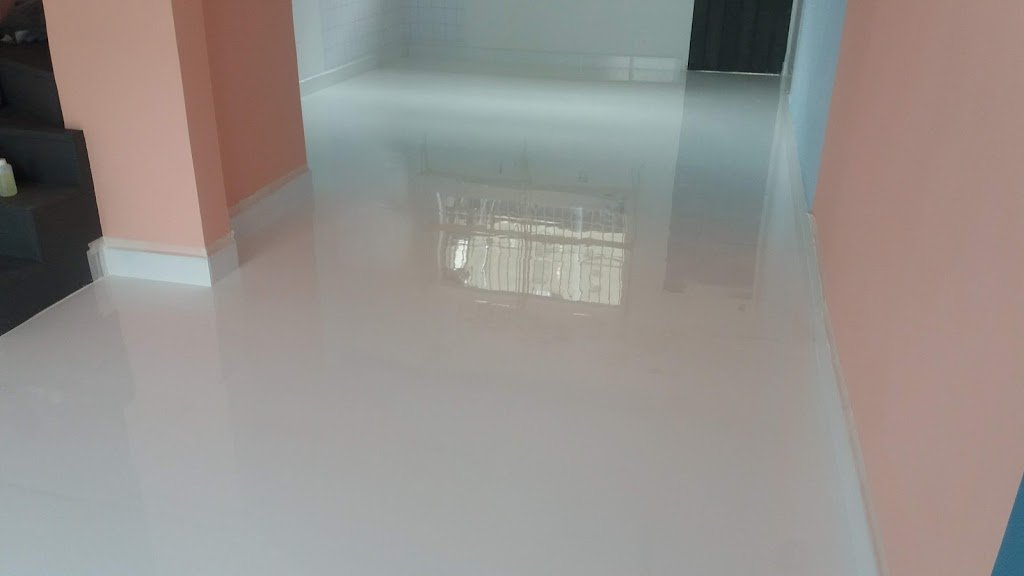 LiquidPiso Porcelanato liquido branco