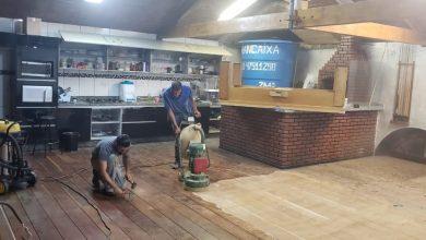 Restauração Piso de Madeira